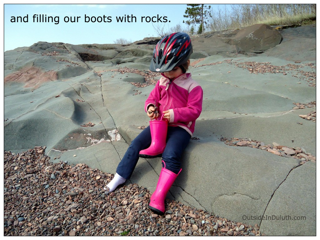 Rocks in Boots