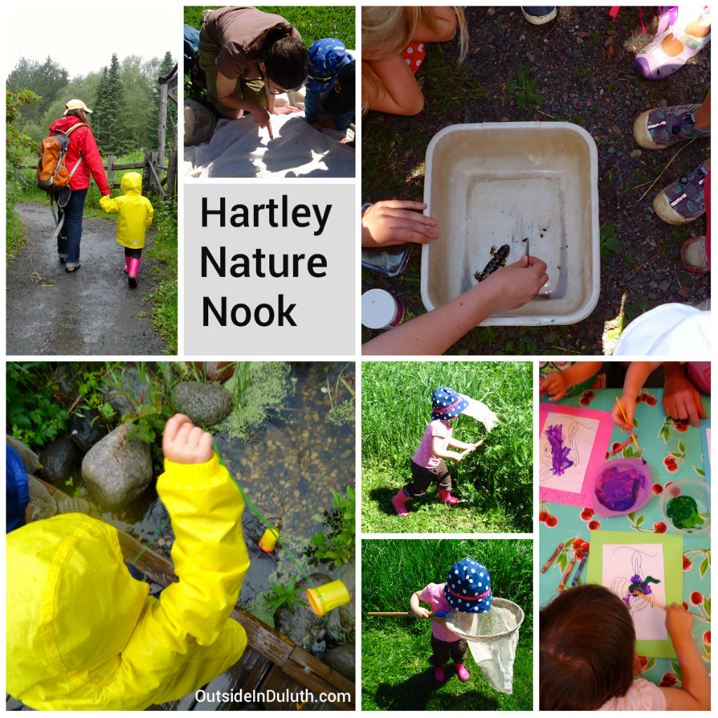 Outdoor Play at Nature Center