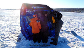 Minnesota Nice on Ice:  A Simple Act of Kindness on Frozen Lake Superior