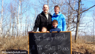 Family Goal:  Visit All 76 Minnesota State Parks