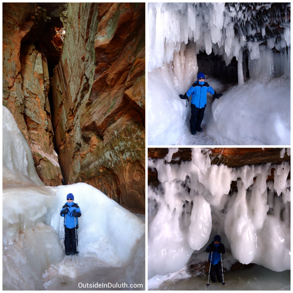 Ice Caves in Northern Wisconsin