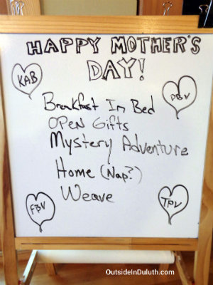 Mother's Day Agenda