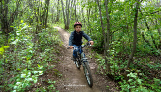 Duluth's New Mountain Biker