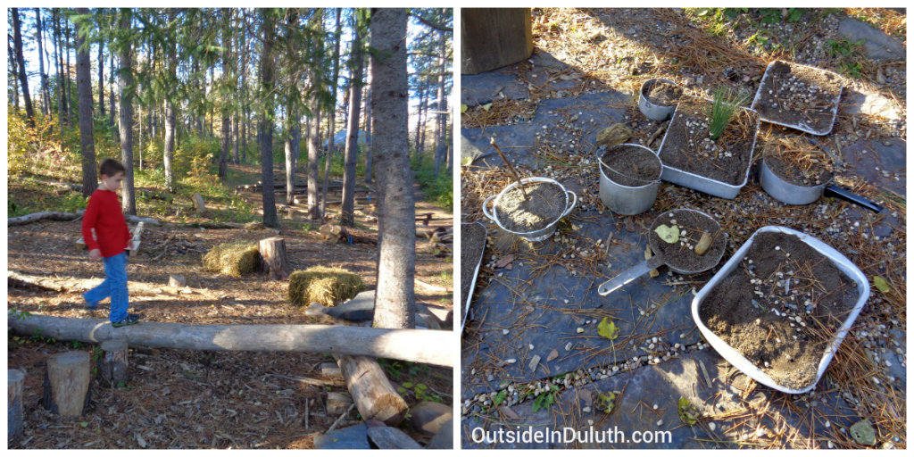 Outdoor Activities at Hartley Nature Playscape, Duluth, MN