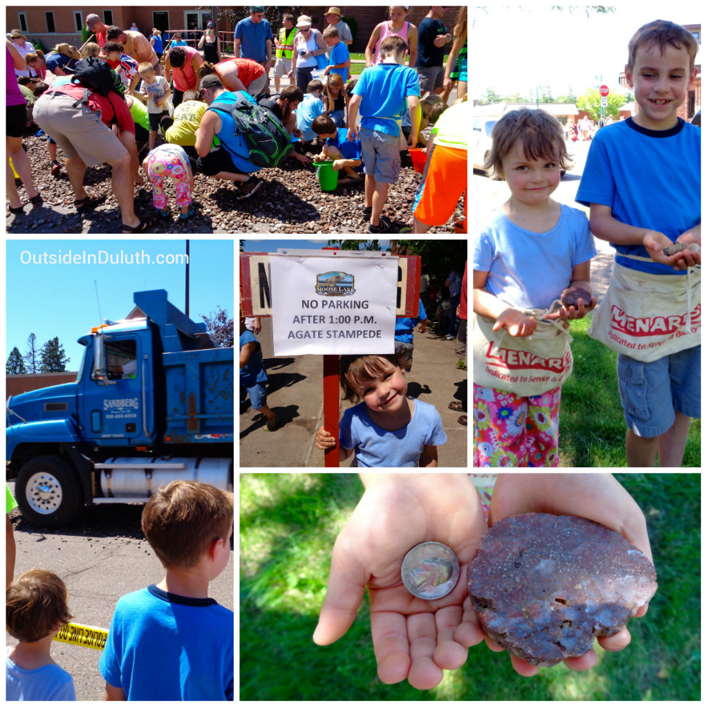 Agate Days in Moose Lake with Kids