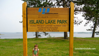Island Lake Park:  Easy Public Beach Access