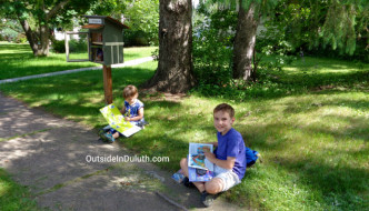 Little Free Library Walk