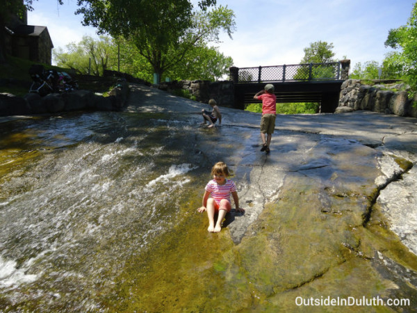 Miller Creek, Lincoln Park, Kids, Duluth, MN