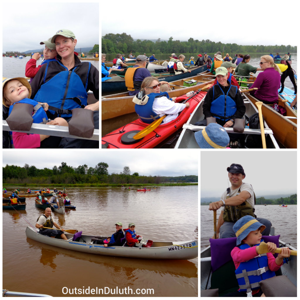Canoeing with Kids, Duluth, MN