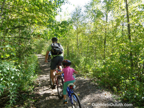 Biking with Kids, Duluth, MN
