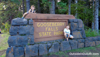 MN State Park #4: Gooseberry Falls