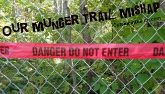 Our Munger Trail Mishap