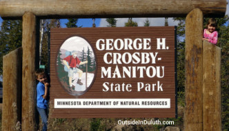 MN State Park #5: George H. Crosby-Manitou
