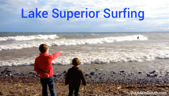 Surfing on Lake Superior? You've Got to See It!