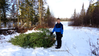 Boulder Lake Annual Christmas Tree Cut