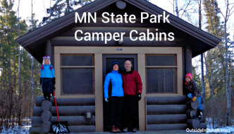 MN State Park Camper Cabins:  A Perfect Winter Retreat