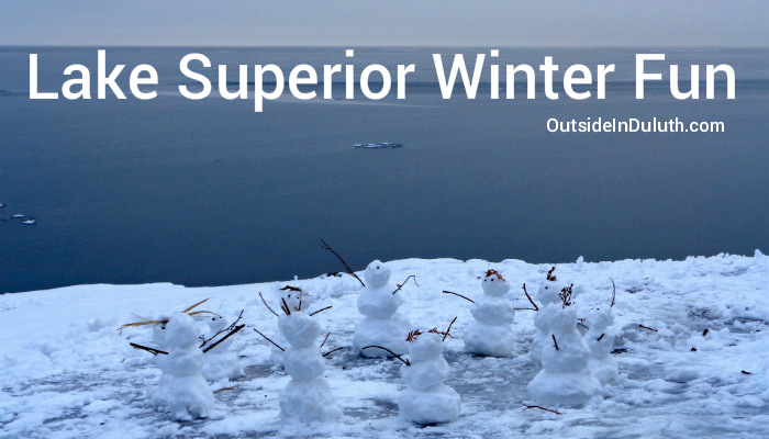 Lake Superior Winter Fun