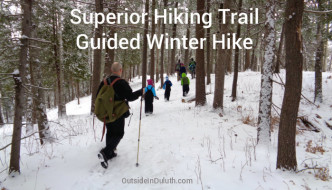 Superior Hiking Trail Guided Winter Hike