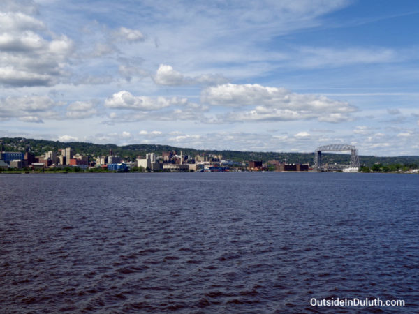 Vista Boat Tour View of Duluth