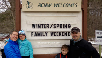 Family Weekend at the Audubon Center