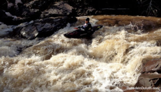Lester River Kayak Race:  It's Worth Watching!