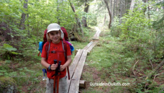 My View while Hiking 75 Miles with My 9-Year-Old (Video)