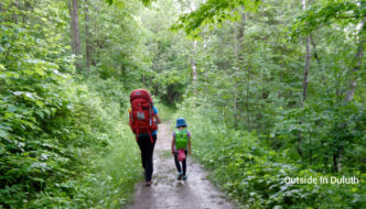 Backpack-In Camp and Hike at Jay Cooke State Park
